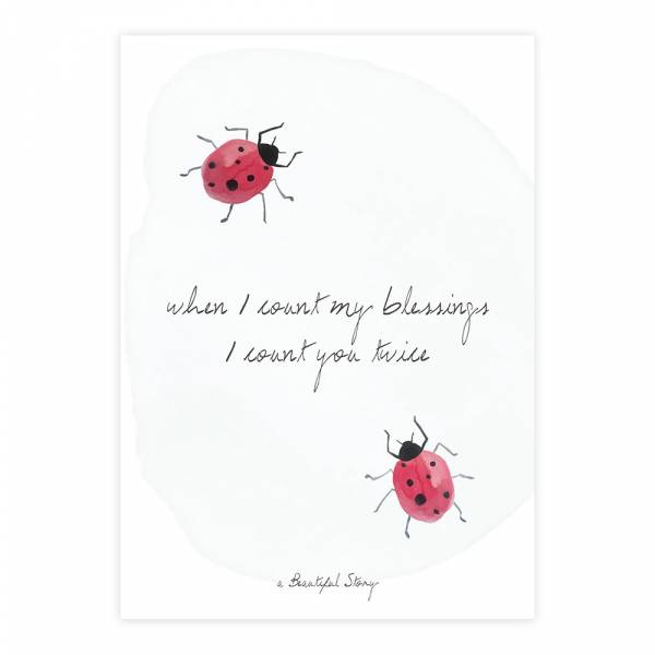 Greeting Card Blessings