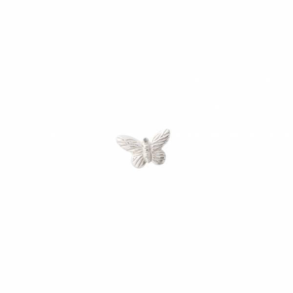 Vlinder Sterling Zilver Oorbel