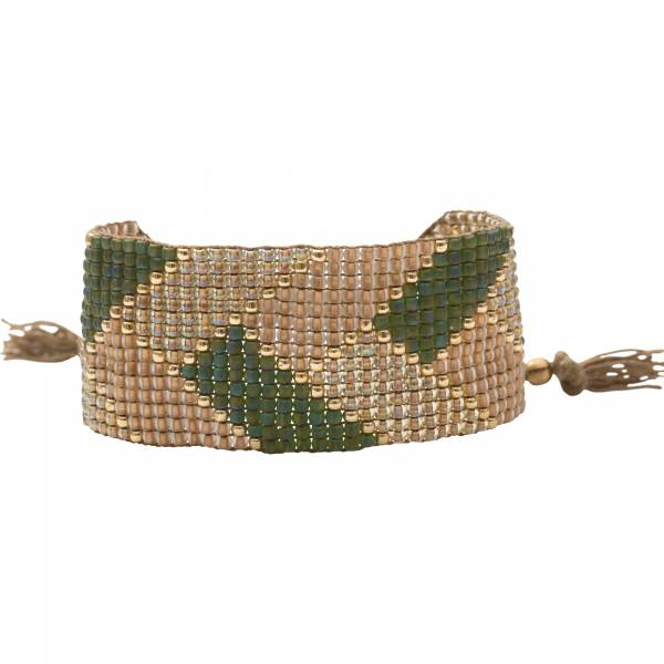 Willow Aventurine Gold Bracelet