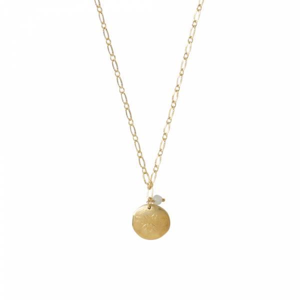 Rose Aventurin Gold Halskette
