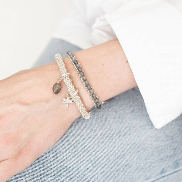 Jetty Labradoriet Zilver Armband