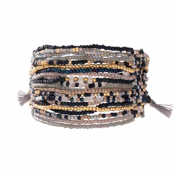 Brilliant Moonstone Gold Bracelet