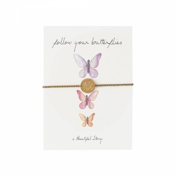 Jewelry Postcard Butterflies