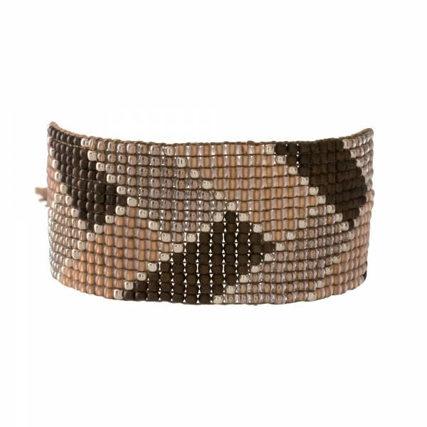 Willow Smokey Quartz Silver Bracelet