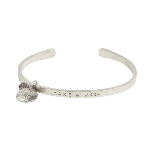 Pure Löwenzahn Silber Armband