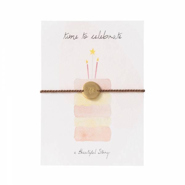 Schmuck Postkarte Kuchen