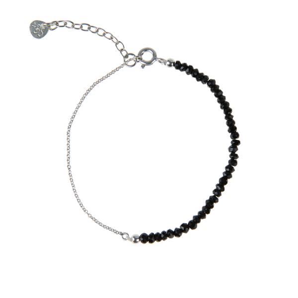 Darling Black Onyx Sterling Silver Bracelet