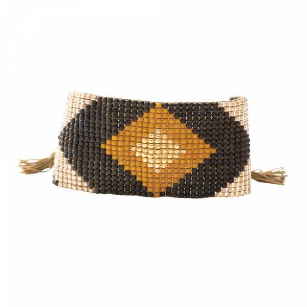 Lovable Tigerauge Gold Armband