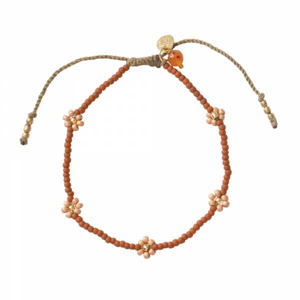 Sunshine Carnelian Gold Bracelet