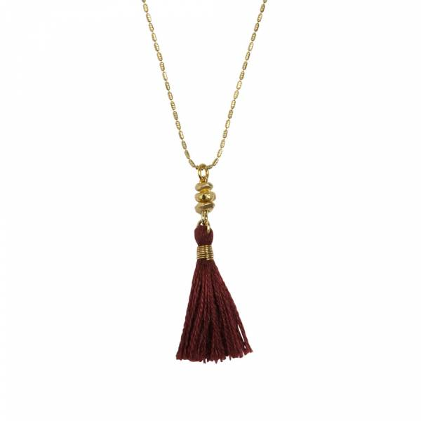 Miracle red gold necklace