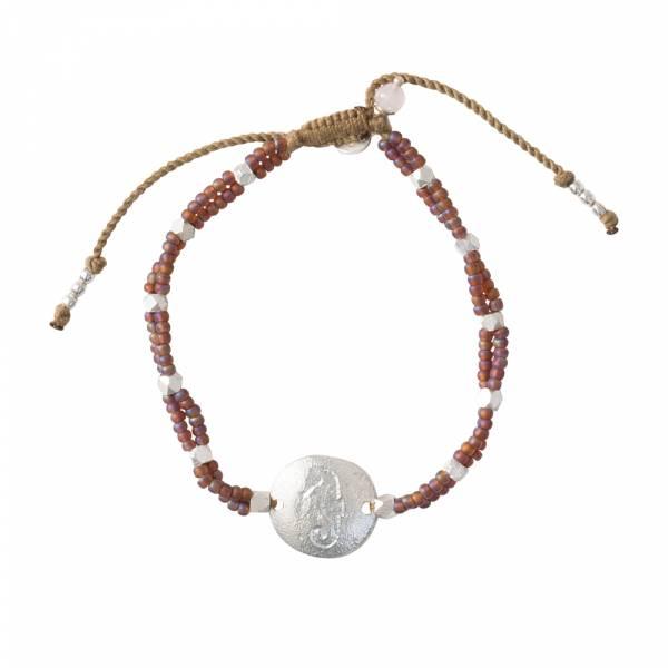 Gratitude Rose Quartz Silver bracelet