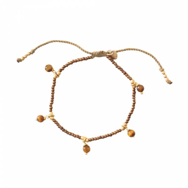 Dreamy Tigerauge Gold Armband