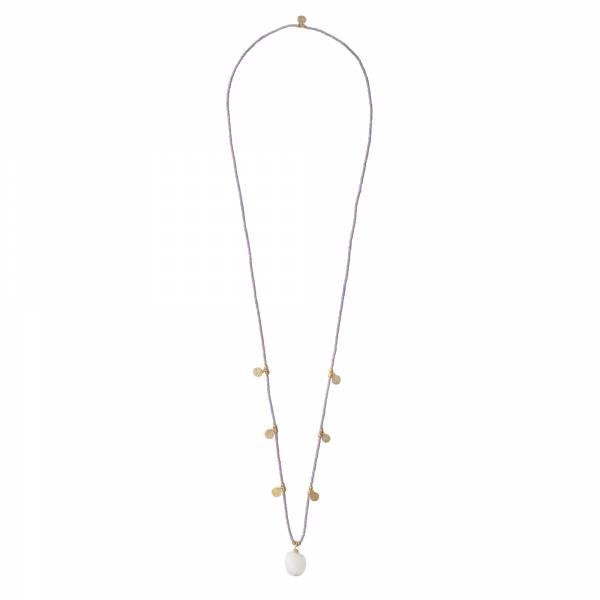Charming Mondstein Gold Halskette