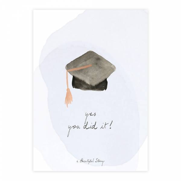 Greeting Card Graduation