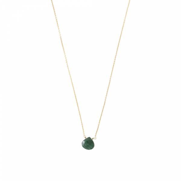 Divine Aventurine Gold Necklace