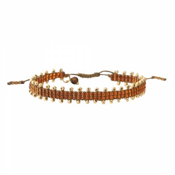 Happiness Tijgeroog Goud Armband