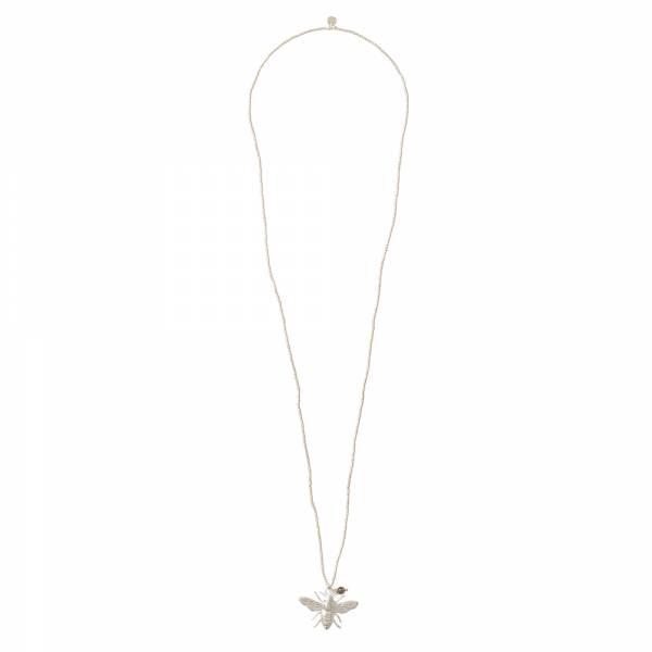 Paradise Rauchquarz Silber Halskette