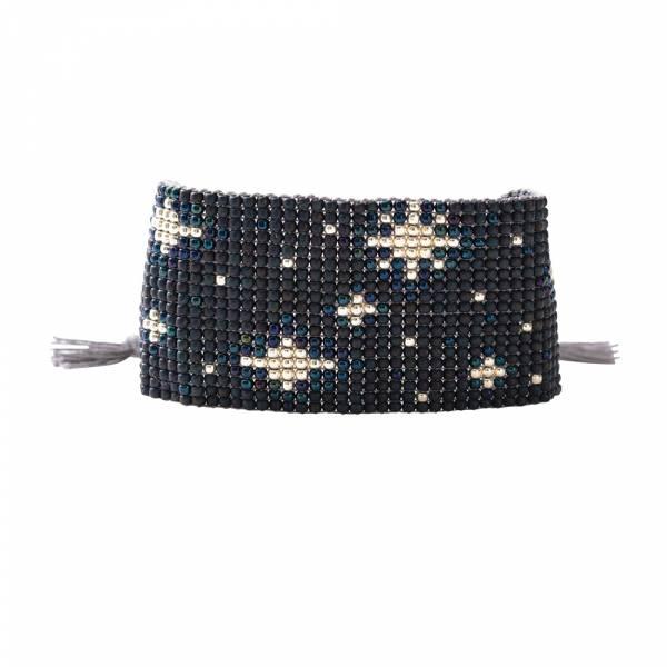 Starlight Lapis Lazuli Silver Bracelet