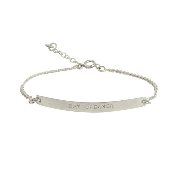 Flow day dreamer zilver armband