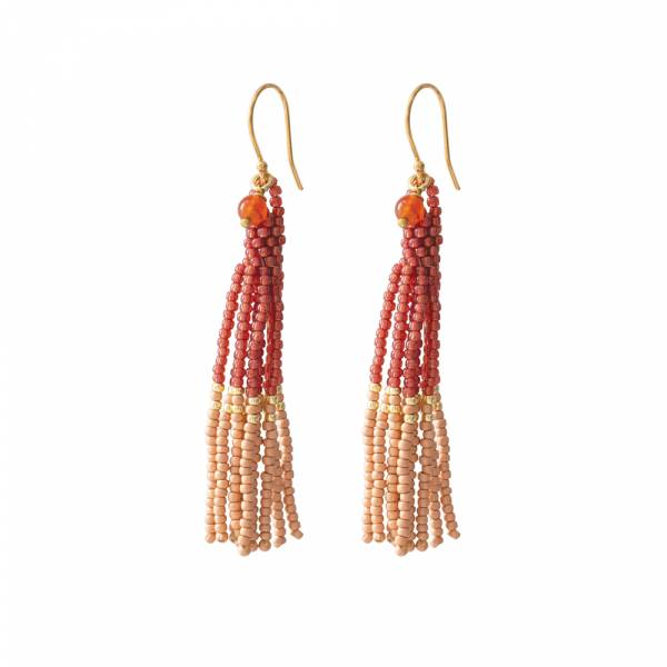 Dream Carnelian Gold earrings