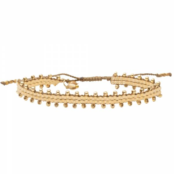 Happiness Citrien Goud Armband