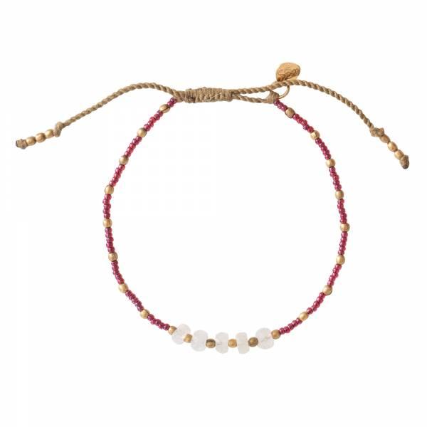 Family Moonstone Gold bracelet