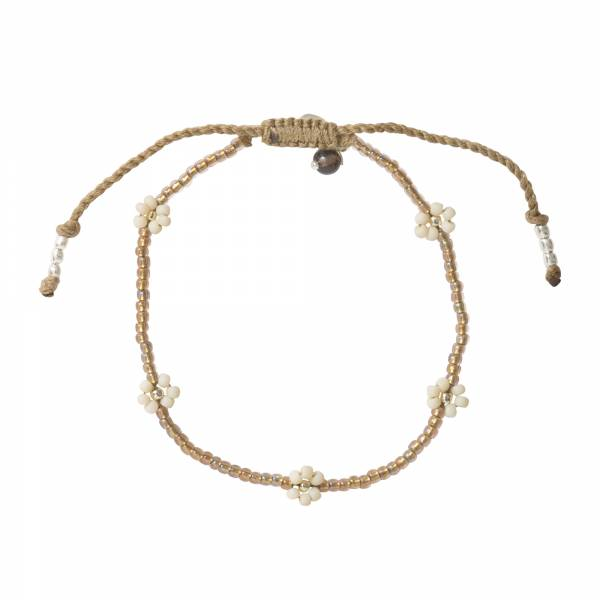 Sunshine Smokey Quartz Silver Bracelet