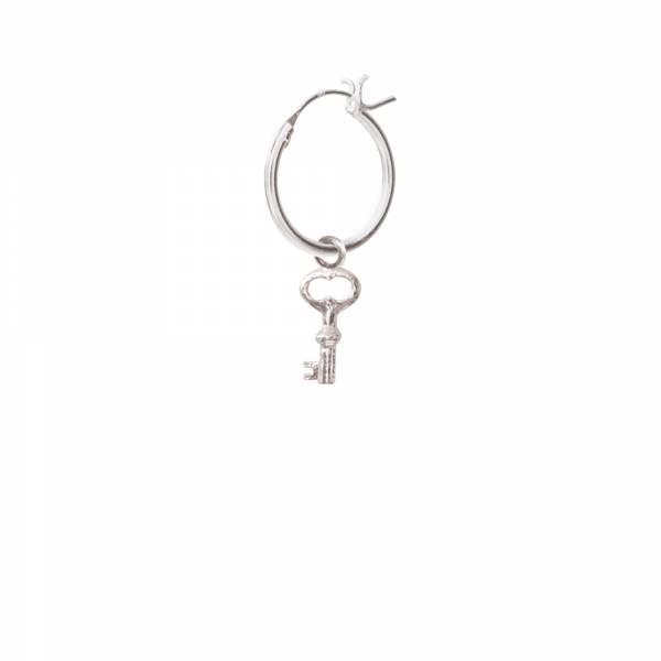 Schlüssel Silber Ohrring