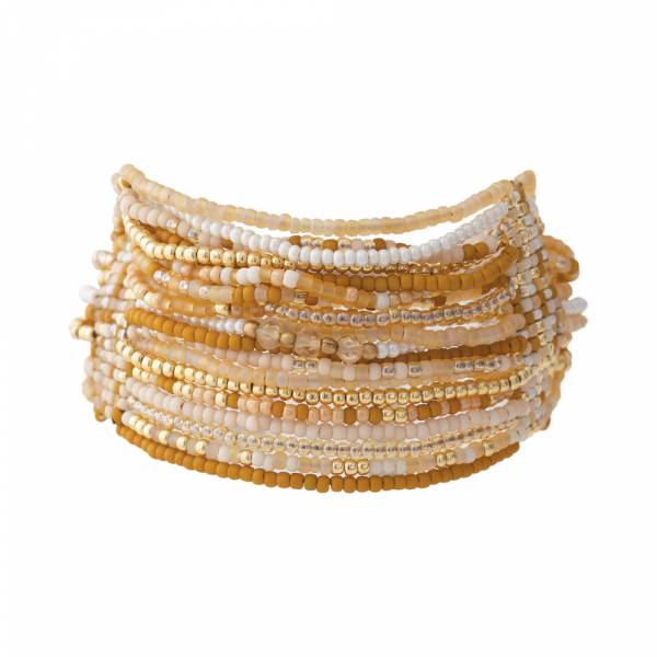 Brilliant Citrine Gold bracelet