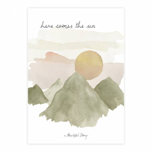 Greeting Card Sun
