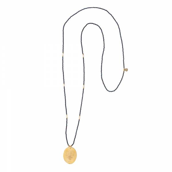 Swing Moonstone Gold Necklace