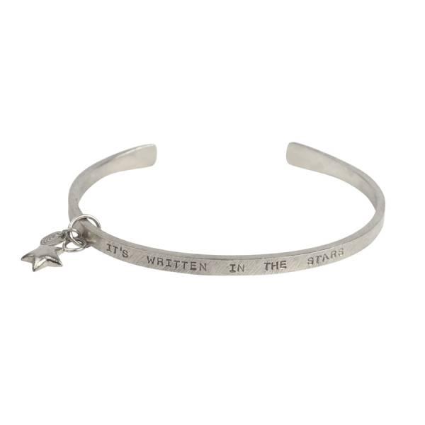 Pure star silver bracelet