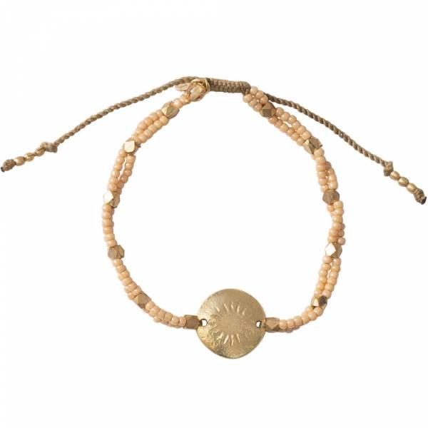 Gratitude Citrin Gold Armband