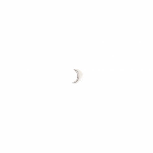 Moon Sterling Silver Earring