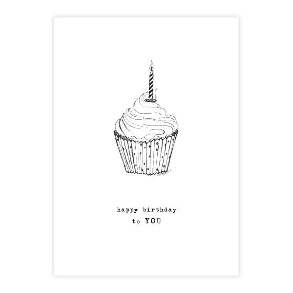 Greeting Card Cupcake