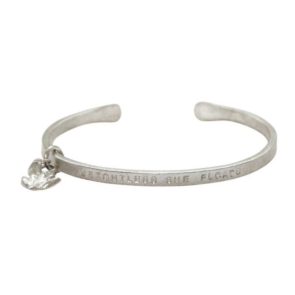 Pure floats silver bracelet