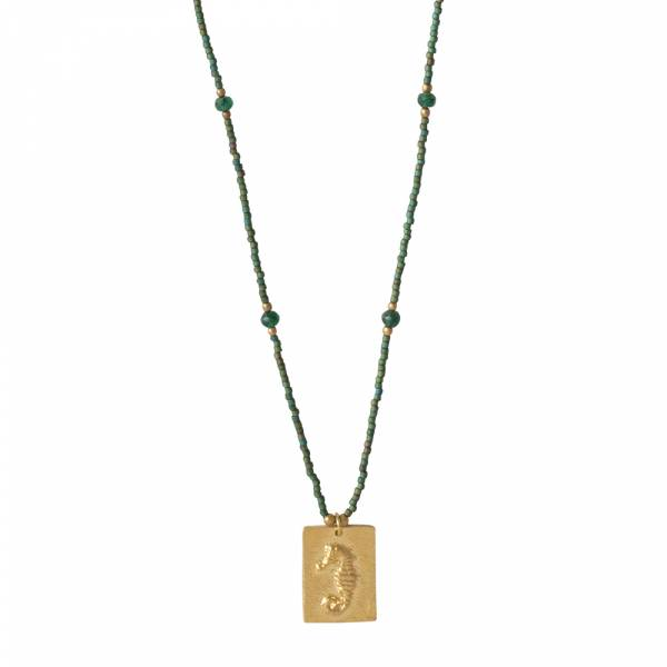 Delight Aventurine Gold necklace