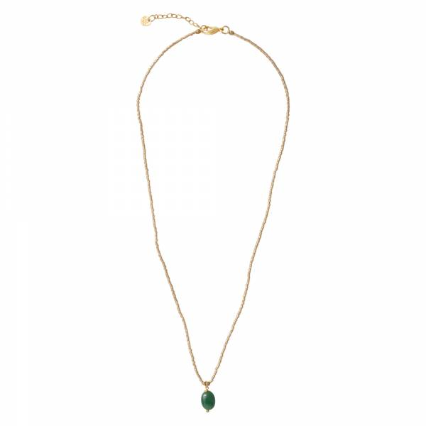 Magical Aventurine Gold Necklace