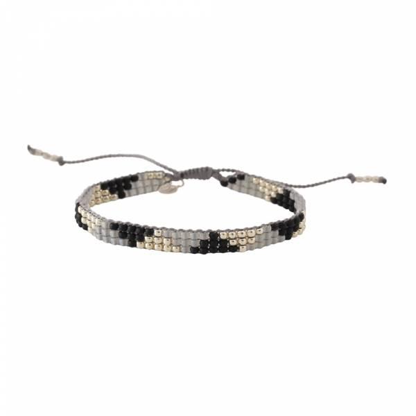 Sunlight Black Onyx Silver Bracelet