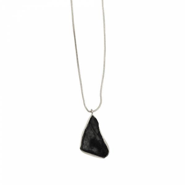 Grace Black Onyx silver necklace