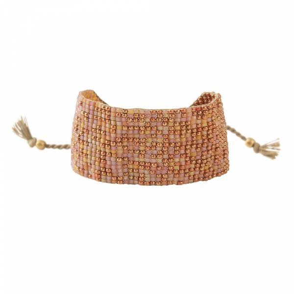 Sunny Carneool Goud Armband