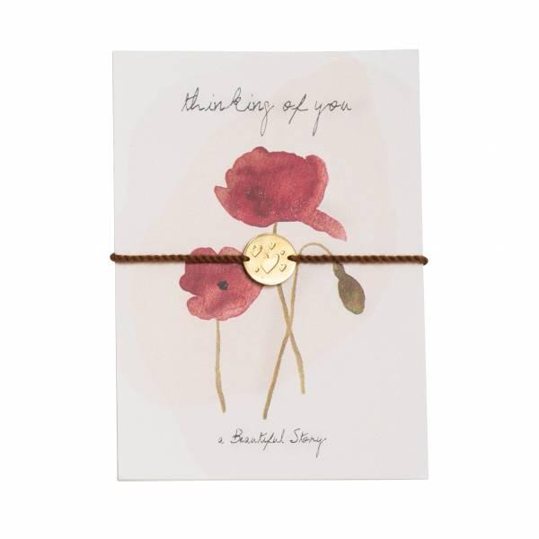 Jewelry Postcard Poppy