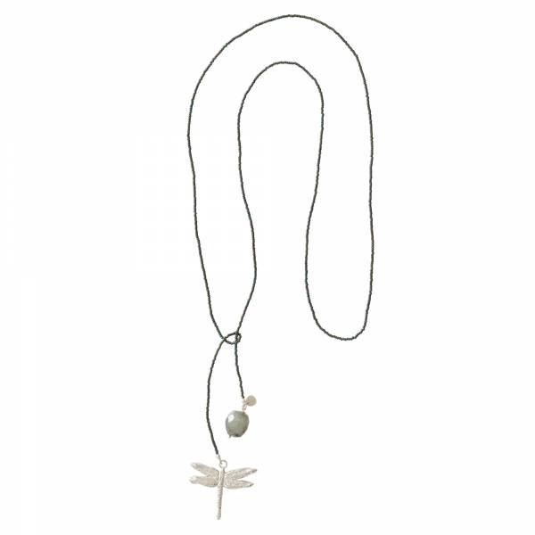 Nova Labradorite Silver necklace