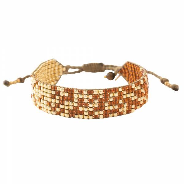 Treasure Tiger Eye Gold bracelet