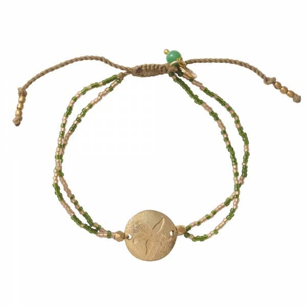 Daydream Aventurine Gold Bracelet