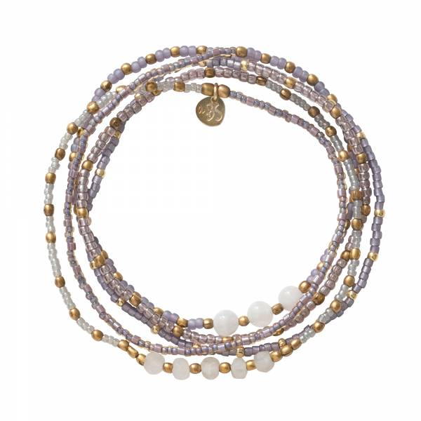 Together Moonstone Gold Bracelet