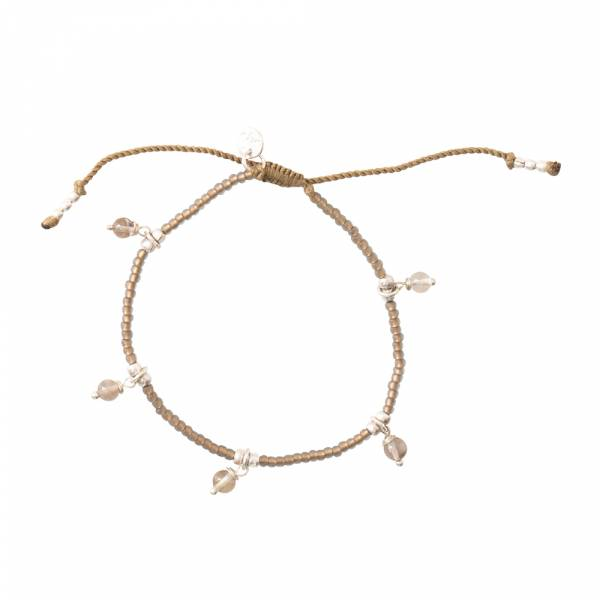 Dreamy Rookkwarts Zilver Armband