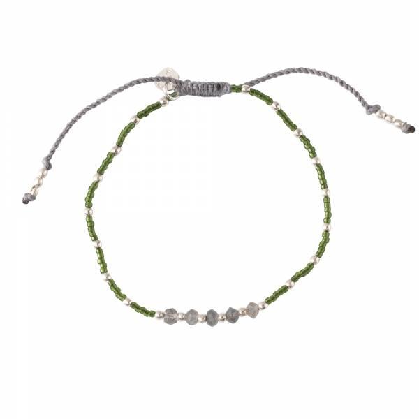 Family Labradorite Silver Bracelet