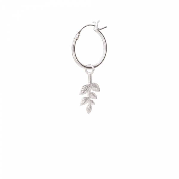 Branch Sterling Silver Hoop Earring