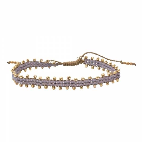 Happiness Moonstone Gold Bracelet